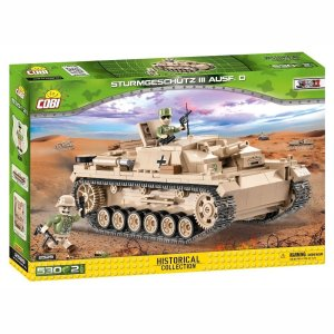 COBI STUG III Tank Set