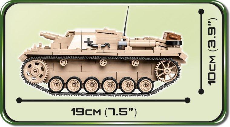 COBI STUG III Tank Set 2529