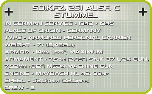 COBI Stummel Set 2472A Specs