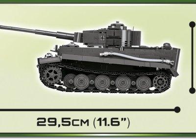 COBI Tiger 1 PzKpfw AUSF E Set Lenght