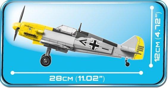 Cobi BF 109 F-2 Length