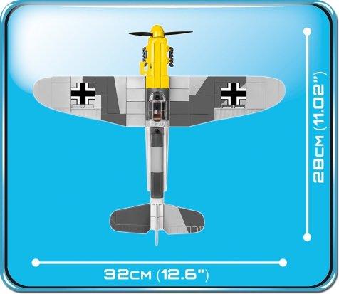 Cobi BF 109 F-2 Size