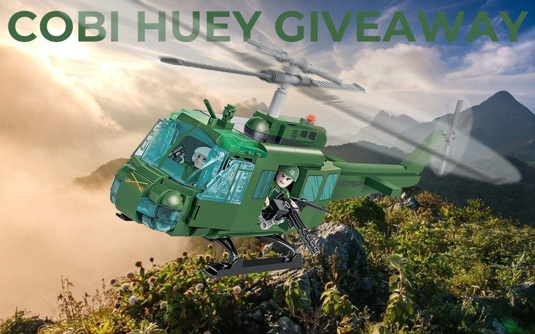 Cobi Huey Air Cavalry Set Giveaway