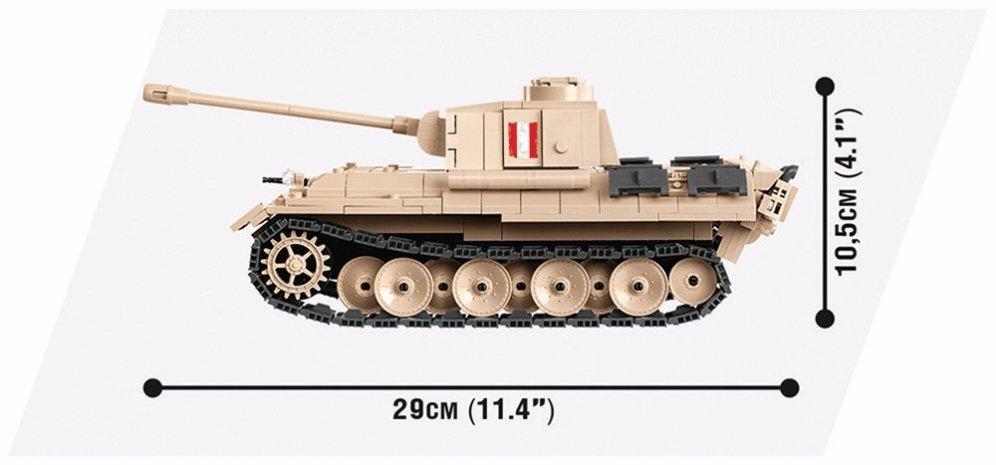 Cobi WOT Panther Warsaw Uprising Tank Length