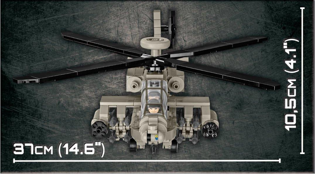 How big is the COBI Apache