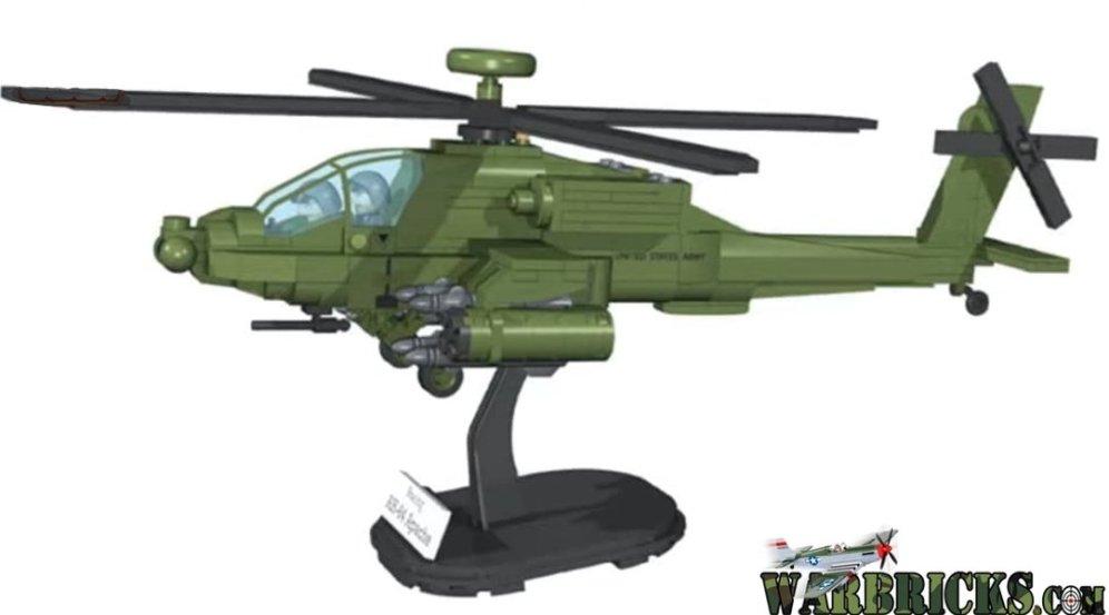 New COBI AH-64 Apache Set USA Store