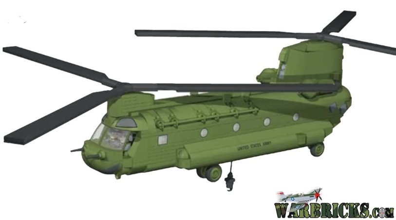 New COBI CHINOOK Helicopter Set