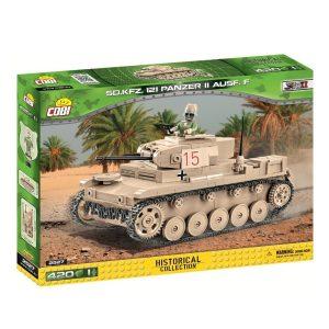 2527 Panzer II Ausf. F Tank Set