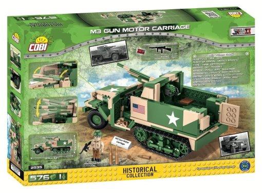 COBI 2535 M3 Gun Motor Carriage Amazon