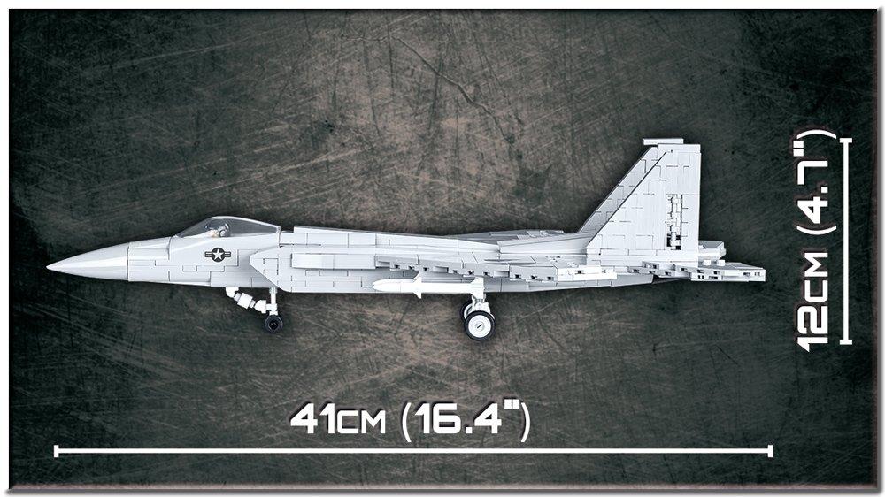 COBI F-15 Eagle Set (5803) Length