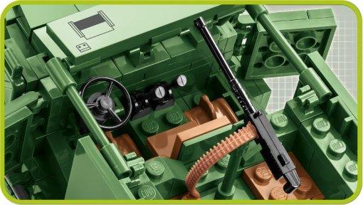 COBI M3 Armored Half-Track Set (2536) Insides