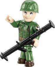 COBI M3 Armored Half-Track Set (2536) Soldier