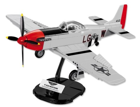 Lego Top Gun P51D Mustang Display