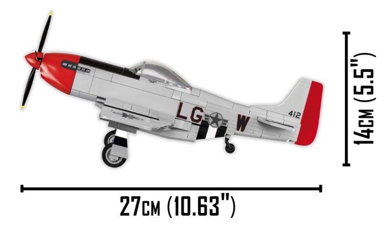 COBI Top Gun P51D Mustang Set Size