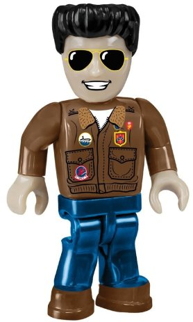 Cobi Top gun figure