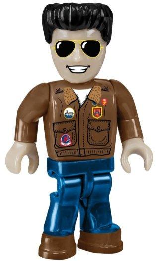 Cobi Top gun figure