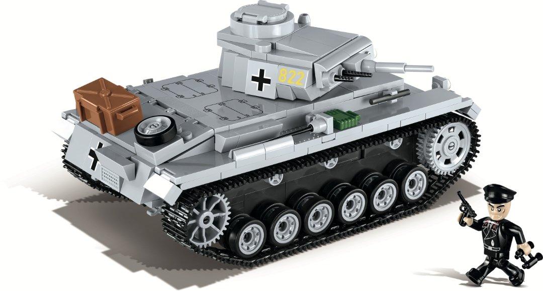 COBI PANZER III Ausf. E Tank Set (2523) Amazon