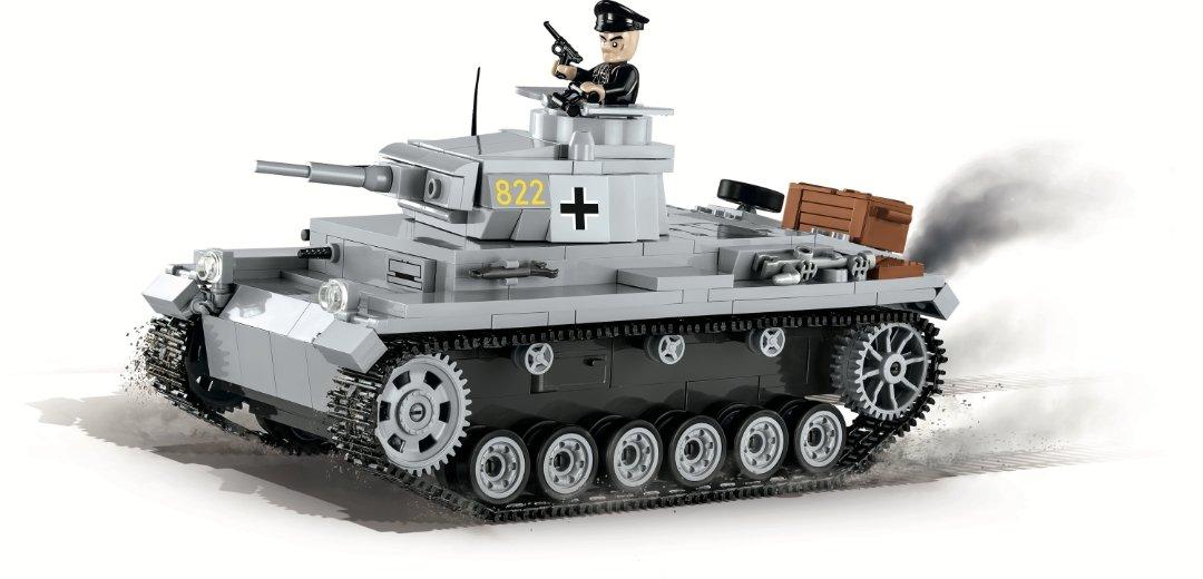 COBI PANZER III Ausf. E Tank Set (2523) USA Store