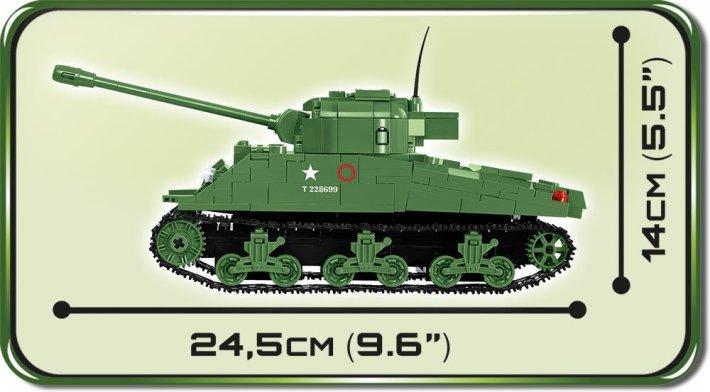 COBI Sherman Firefly Set (2515) Length