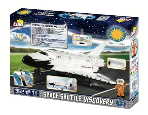 COBI Space Shuttle Discovery (2107A) Amazon