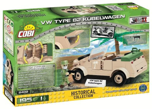 COBI Type 82 Kubelwagen Set (2402) Box