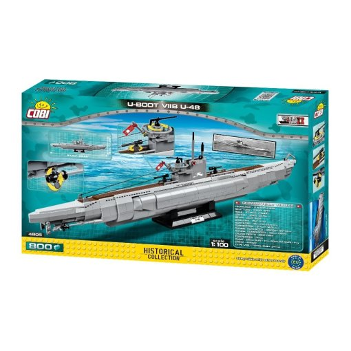 COBI U-48 U-Boat Submarine Set (4805) Amazon