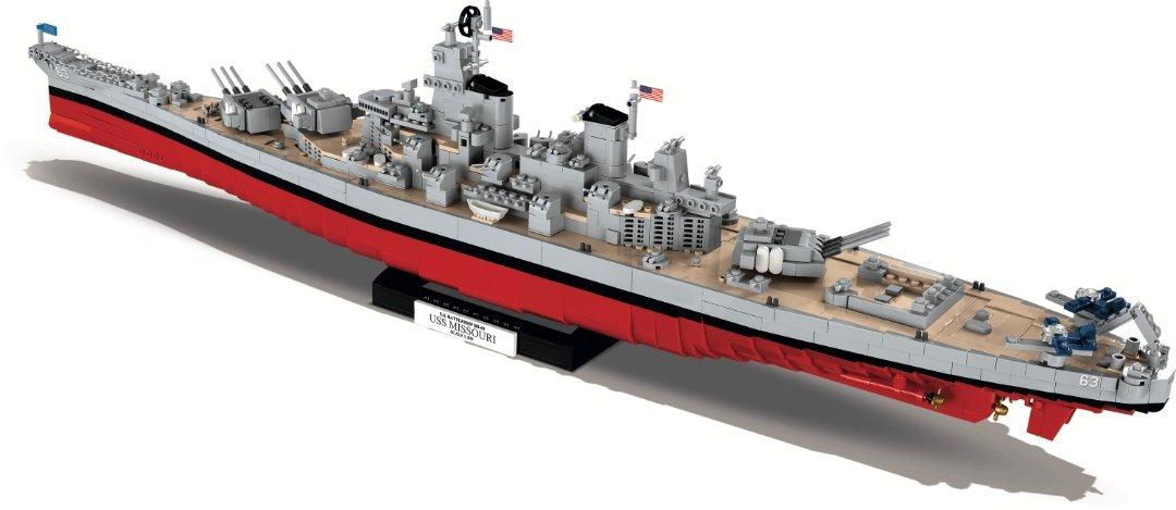 COBI USS IOWA_ USS MISSOURI SET (4812) Amazon