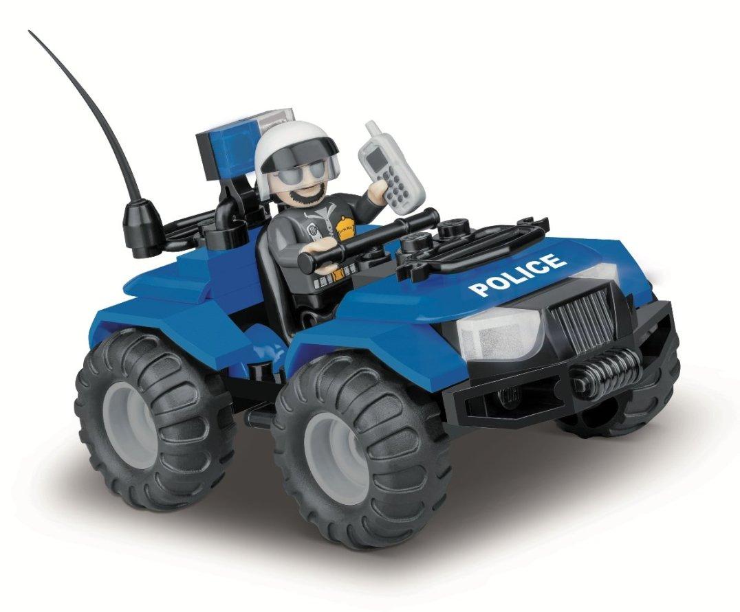 COBI ATV Police Patrol Set (1547) Amazon