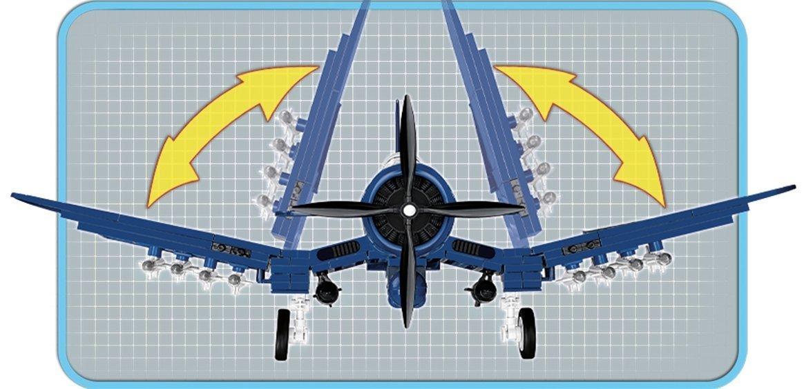 COBI AU-1 Corsair Set (2415) Wings