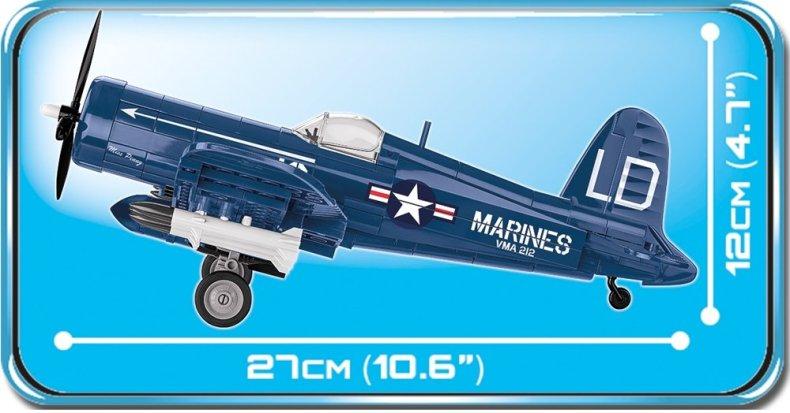 COBI AU-1 Corsair Set (2415) length