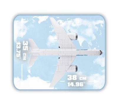 COBI Boeing 777 Set (26261) Size
