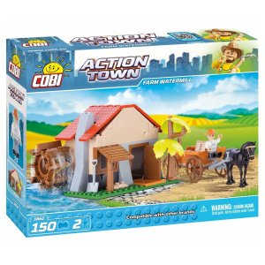 COBI Farm Water Mill Set (1862)