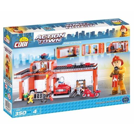 COBI Fire Station Set (1466) Amazon