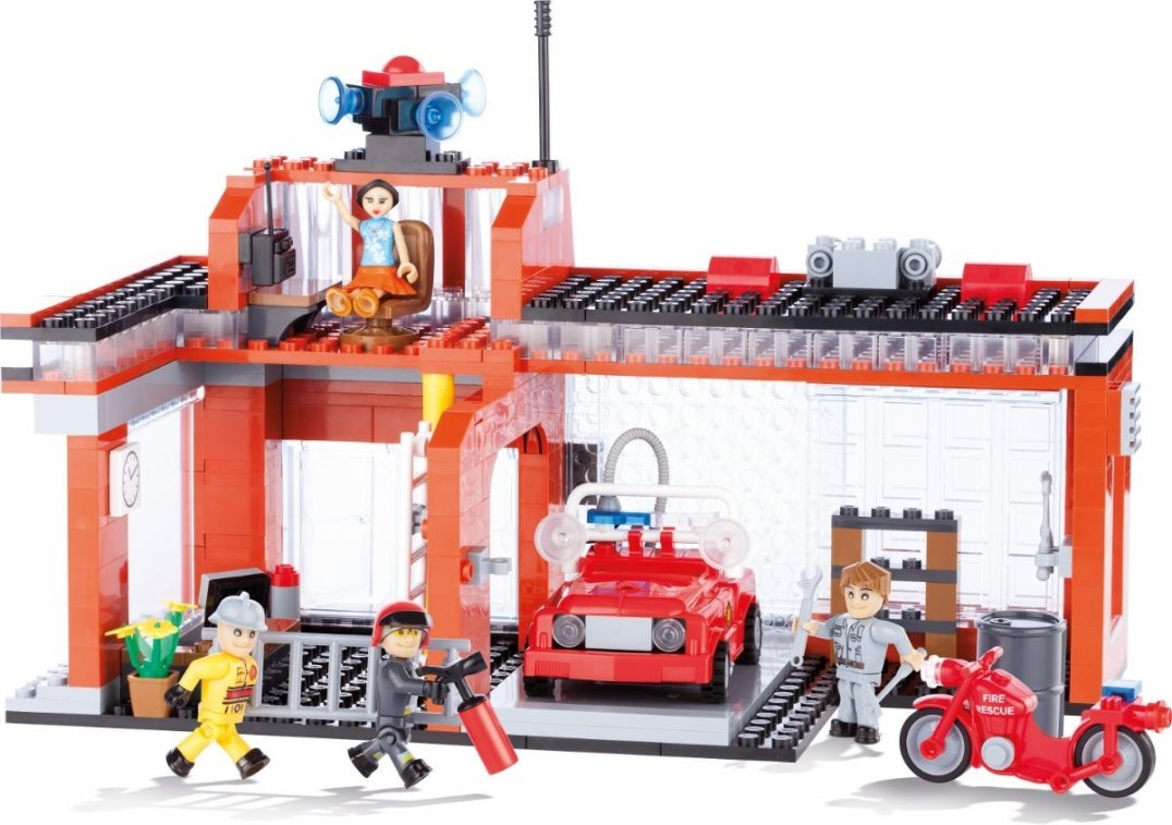 COBI Fire Station Set (1466) USA