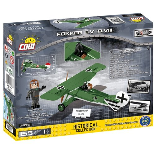 COBI Fokker EV D.VIII Set (2976) Amazon