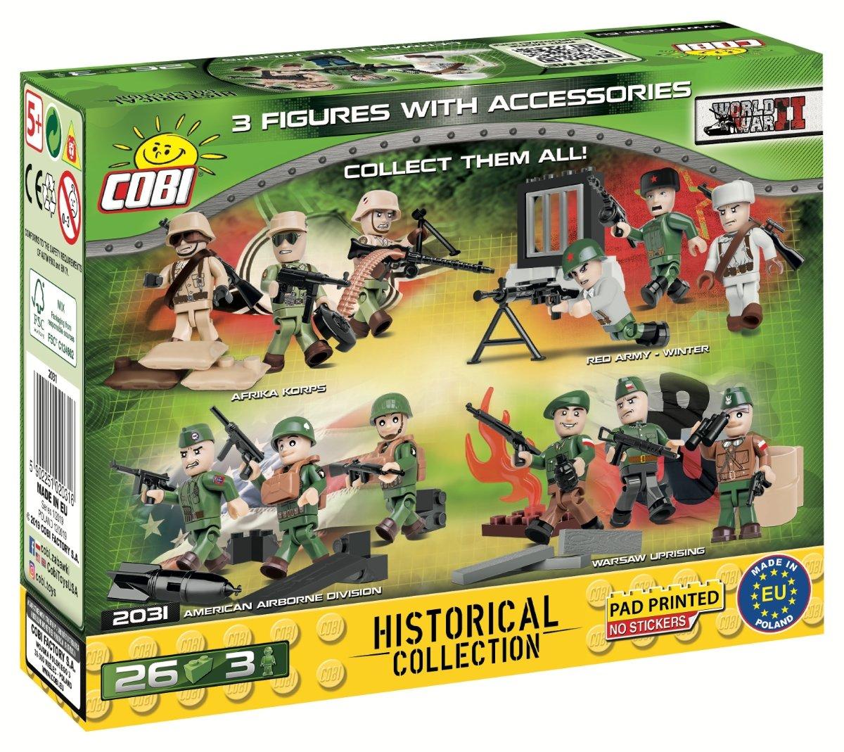 COBI German Elite Troop Set (2031) USA