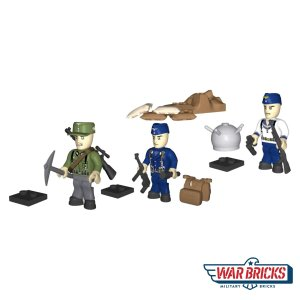 COBI German Infantry Figure Set (2446)