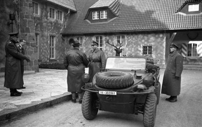 German COBI SCHWIMMWAGEN Set 2403