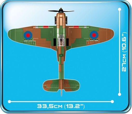 COBI HAWKER HURRICAN MK I Set (5709) Size