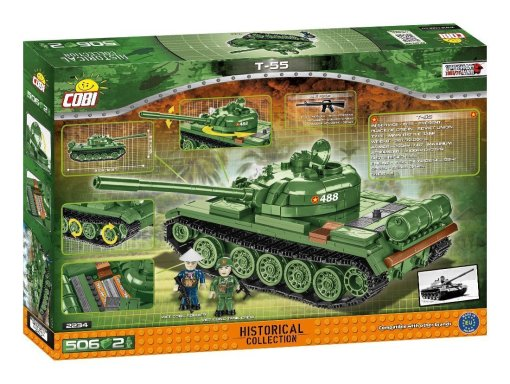 COBI MEDIUM TANK T- 55 (2234) SET Reviews