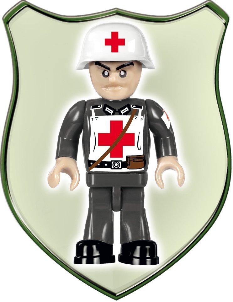 COBI MERCEDES BENZ L3000S SET (2455A) medic