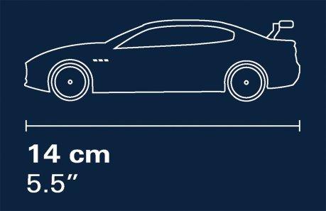 COBI Maserati Gran Turismo GT3 Set (24567) Car size