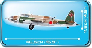 COBI NAKAJIMA KI-49 HELEN Set (5533) Length