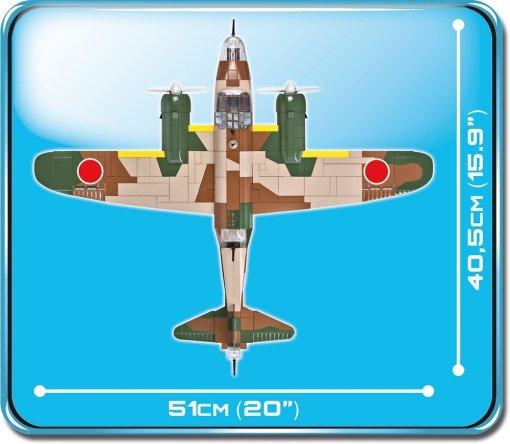 COBI NAKAJIMA KI-49 HELEN Set (5533) Size