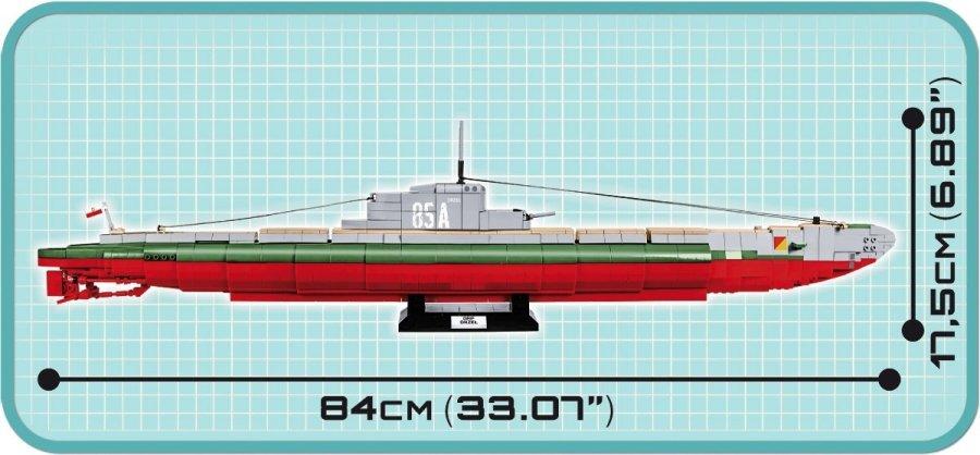 COBI ORP ORZEŁ Set (4808) length