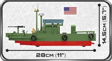 COBI PBR 31 MKII Patrol Boat Set (2238) length