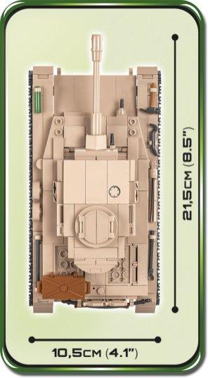 COBI Panzer IV AUSF. G Set (2546) length