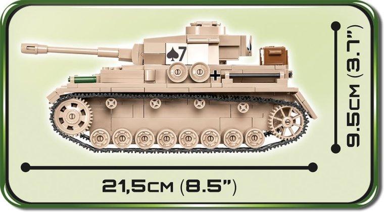 COBI Panzer IV AUSF. G Set (2546) size
