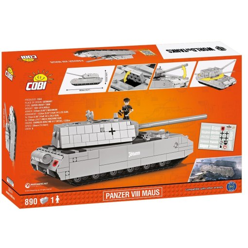 COBI Panzer VIII Maus Set (3024) Amazon
