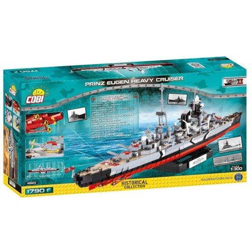 COBI Prince Eugen Heavy Cruiser Set (4823) Box